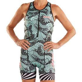 Zoot LTD Tri Race Suit Dames, turquoise